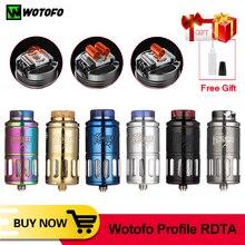 Оригинальный резервуар для электронной сигареты Wotofo Profile RDTA 6,2 мл, испаритель для восстановления RDA E cig 510, испаритель VS Wotofo Profile1.5 RDA
