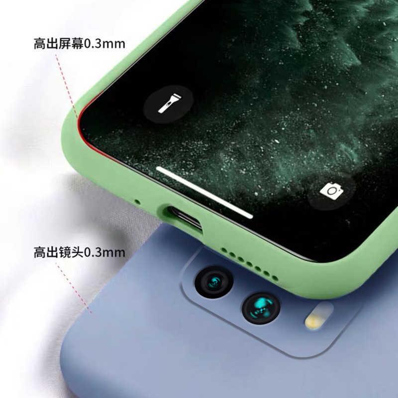 Đối với Xiaomi Redmi Note 8 9 Pro Ốp lưng Poco X3 Redmi Note 9S 10 Lite Silicone lỏng mềm TPU Ốp lưng Điện thoại Redmi Note 9