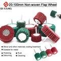 20 мм-100 мм Non-плетеная с клапаном Шлифовальные Колеса Волокна Абразивный полировальный диск Полировочный шлифовальный диск для очистки мета...