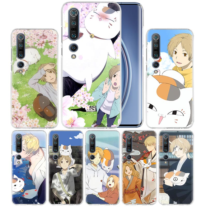 Natsume Takashi Anime Case For Xiaomi Mi Note 10 Pro 9T 9 CC9 A3 A2 8 Lite 6X 10Youth 5G Poco X2 F1 F2pro Hard Coque Fall