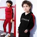 Комплекты детской одежды, одежда для мальчиков и девочек одежда для детей в возрасте от 2 до 8 лет; Сезон осень-зима, детский спортивный костю...