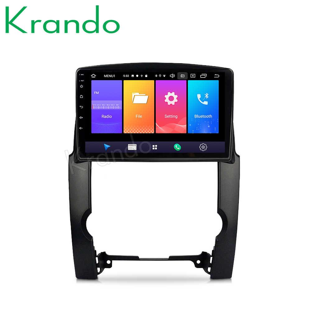 "Krando Android 9.0 10.1 ""IPS Full touch auto multimedia systeem voor Voor KIA Sorento 2 XM Sedan 2009- 2012 auto stereo Geen 2din DVD"