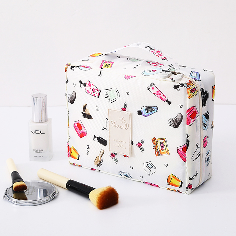 Multifunction Travel Necessaire Cosmetic Bag's Women Makeup Bags Toiletries Organizer Waterproof Female Storage Make Up Cases