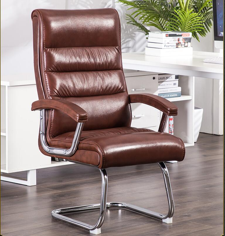 Bow Chair Computer Chair Home Seat Boss Chair Leather Conference Chair Student Desk Chair Fabric Office Chair
