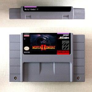 Image 2 - Mortal Kombat or Mortal Kombat II or Ultimate Mortal Kombat 3   Action Game Card US Version English Language