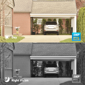 Image 2 - Anranセキュリティカメラシステムpoe 4CH H.265 nvr 5MP防犯カメラのナイトビジョンhd屋外ビデオ監視システム