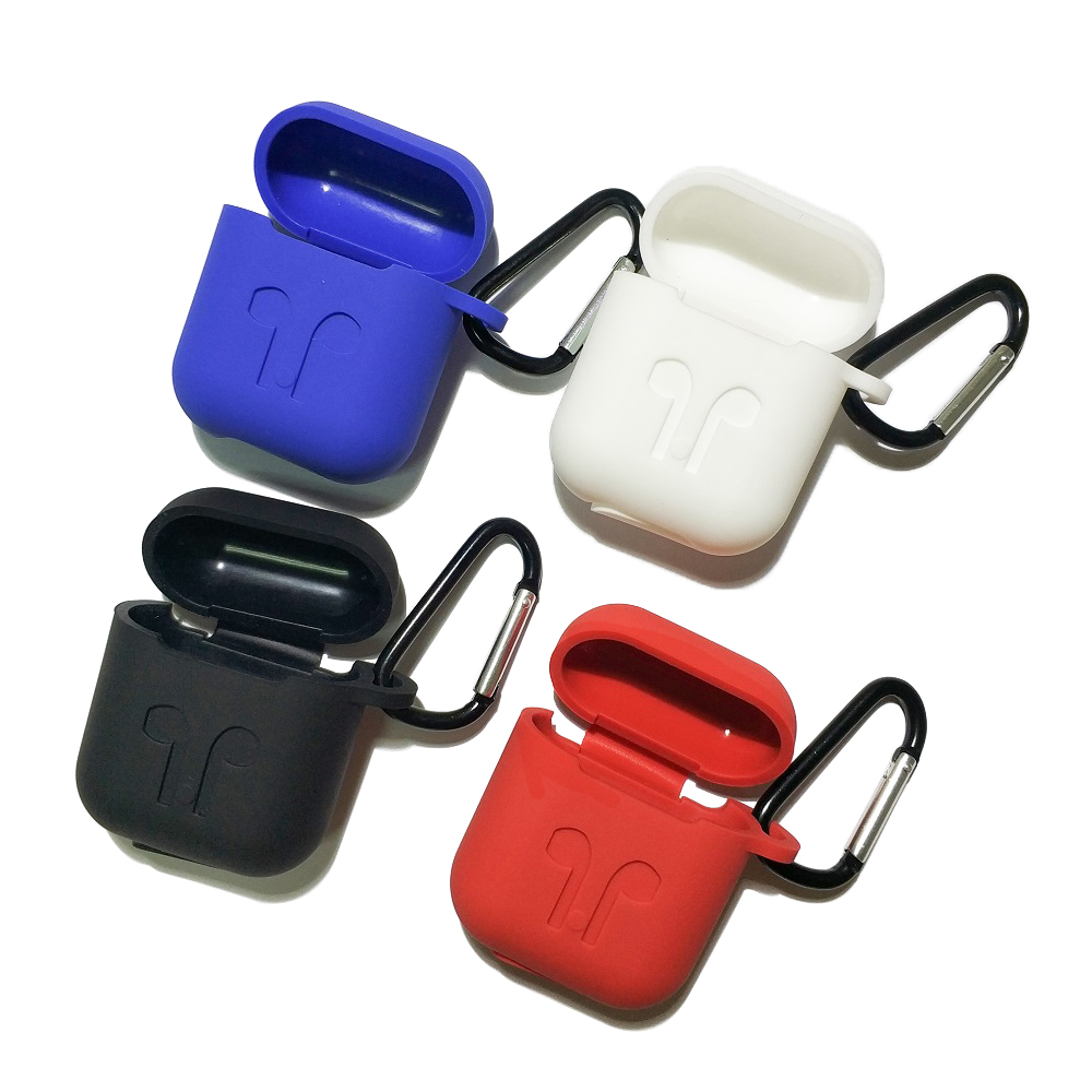 Earphone Case For AirPods 2 1 Silicone Cover Wireless Bluetooth Headphone For Air Pods Pouch Protective For AirPod Case