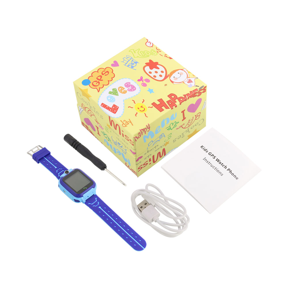 Q12 waterproof smart watch kids waterproof 8