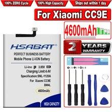 Hsabat 4600mah bm4l bateria para xiaomi cc9e