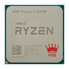Amd Ryzen 3 2200G R3 2200G 3.5 Ghz Quad-Core Quad-Draad Cpu Processor YD2200C5M4MFB Socket AM4