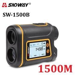 SNDWAY-telémetro Digital Telémetro Láser, telémetro LCD para caza y Golf, pantalla para ruleta