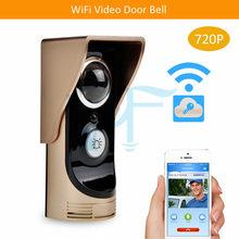 Darmowa wysyłka wideodzwonek WiFi bezprzewodowy domofon Audio domofon zdalnego sterowania 720P HD widoczny dzwonek dzwonek VF-DB01