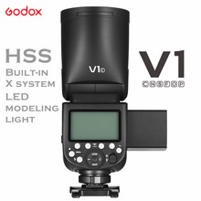 Godox V1 Flash V1C V1N V1S V1F V1O V1P TTL 1/8000s HSS 2600mAh Lithium Battery Speedlite Flash For Canon Nikon Sony Fuji Olympus