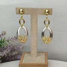 Yuminglai dubaj biżuteria kostiumowa piękna w kształcie kropli kolczyki dla kobiet FHK10316