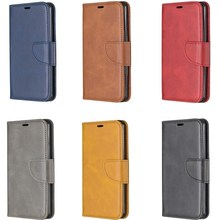 PU Leather Flip Cover for Huawei Y6 2019 Smartphone Wallet Case Card Solt Holder Phone