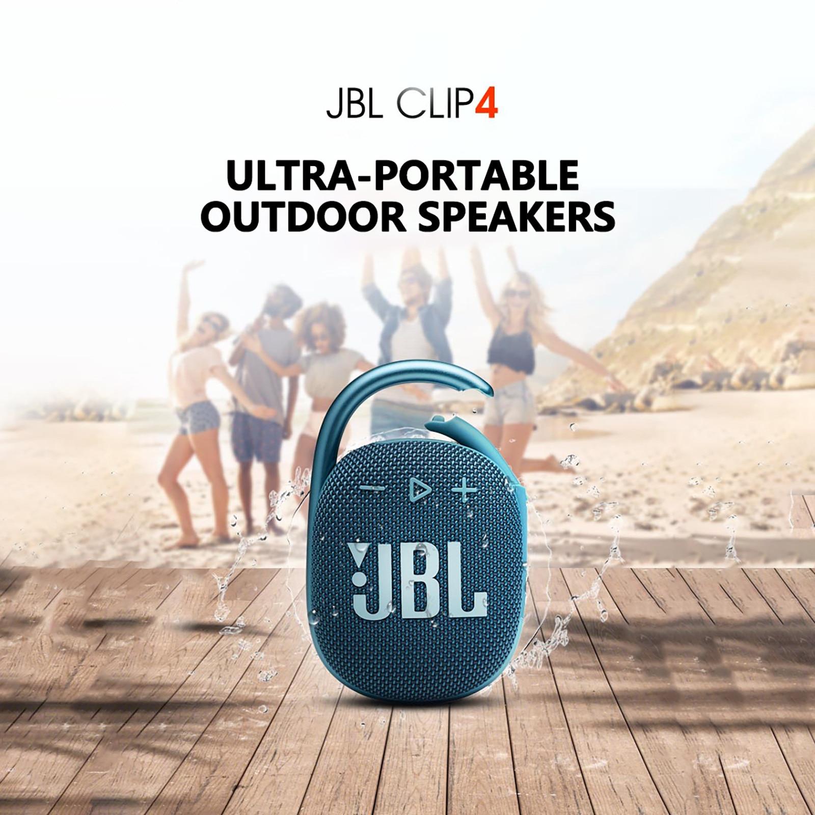 Jbl Clip 4 Wireless Bluetooth 5.1 Mini Speakers Portable Ip67 Waterproof Outdoor Bass Speakers With Hook 10 Hours Battery#g3