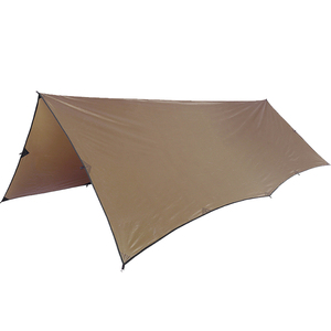Image 2 - Onetigris 210T Polyester Zon Onderdak 3X4M Compact Veelzijdige Duurzaam Backpacken Dekzeil Strand Tent Luifel 100% Waterdicht