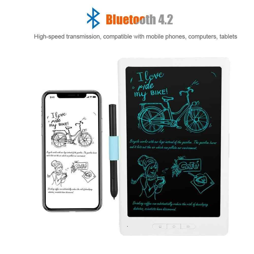 10 بوصة لوح رسم لوحة رسم بلوتوث 4.2 لاسلكيّ لوح رسم هاتف محمول دفتر APP متزامن نقل