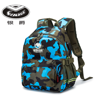YINJUE school backpack camouflage Male students bag Safety reflected light Connect mobile phone to chargeing outdoor school bags susan kesselring school safety