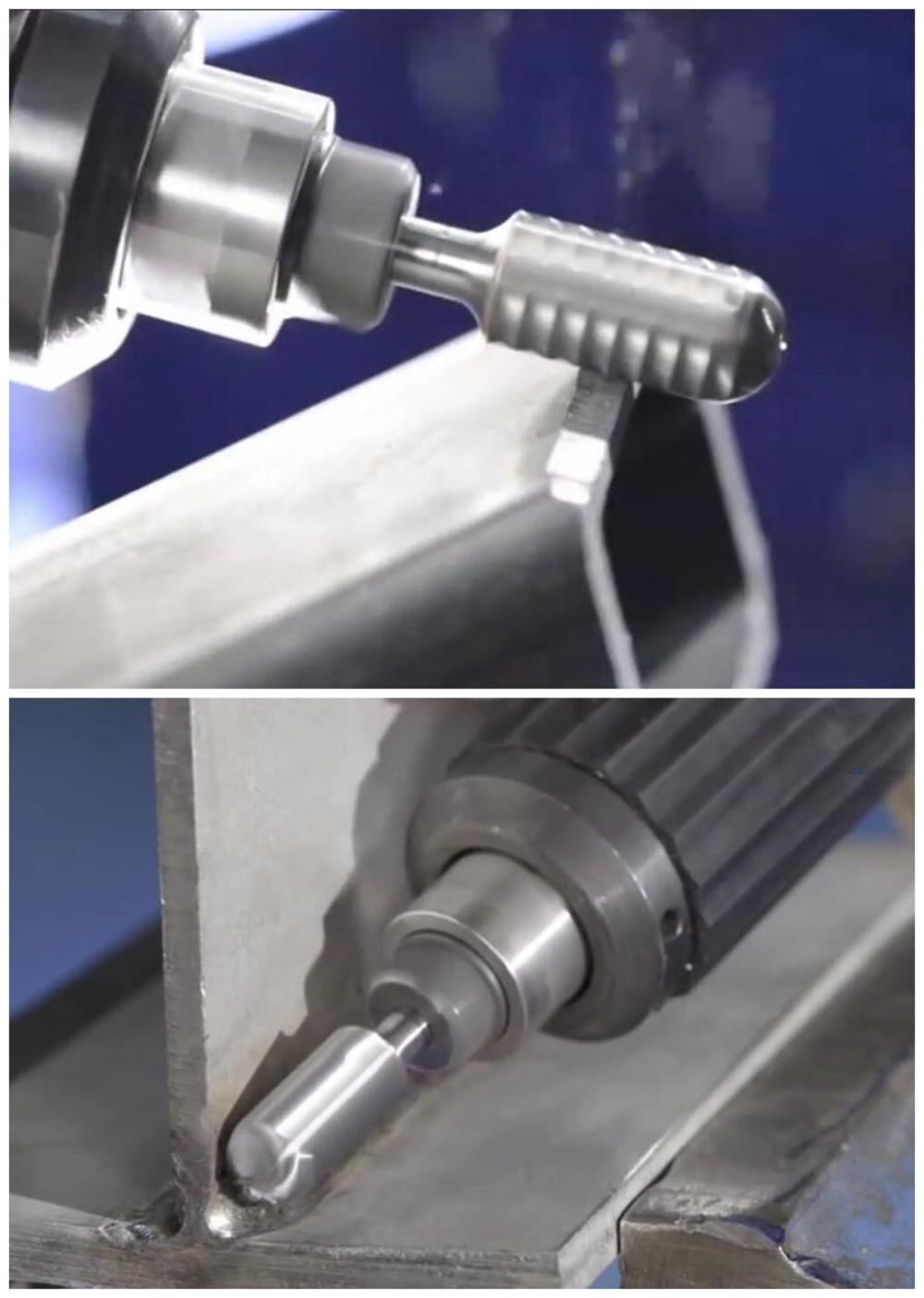 Carbure de Tungstène Double Cut Rotary bavures fichier Boule forme avec 1//8 pouces Shank
