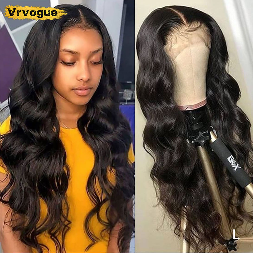 Brazilian 5x5 Lace Closure Wig Body Wave Human Hair Wigs For Black Women Lace Front Wig Human Hair Pre Plucked 150% Vrvogue
