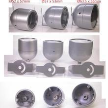 security surveillance camera metal housing (optional 3 types)