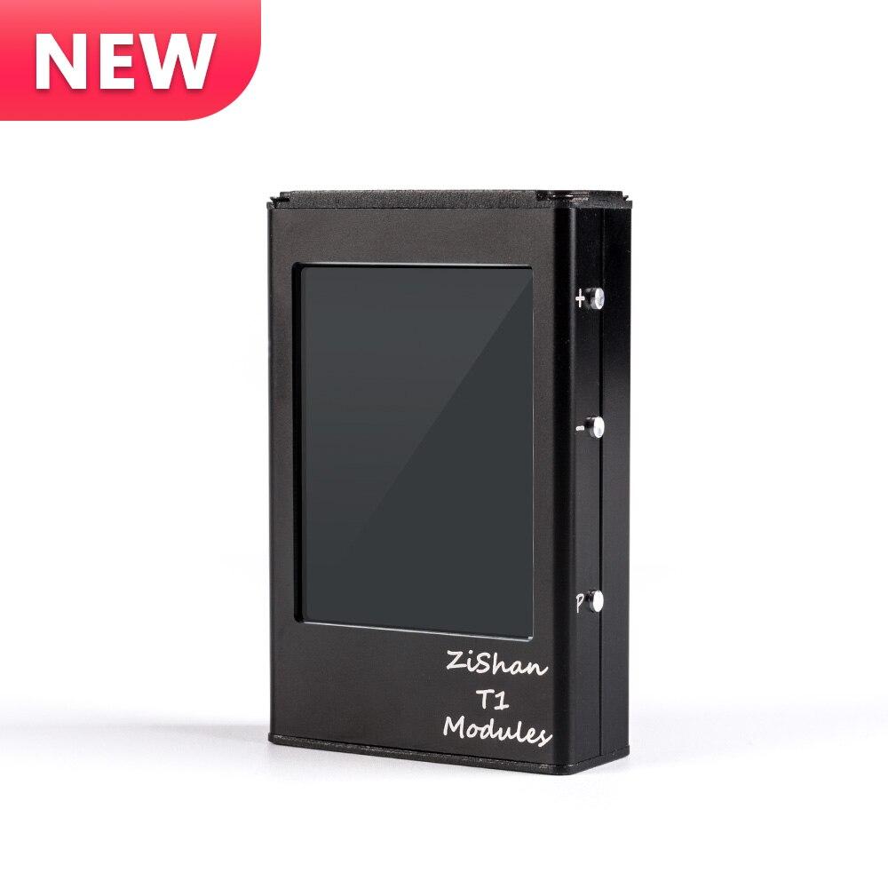 Nouveau Zishan T1 Dual AK4493EQ DSD lecteur MP3 professionnel sans perte HiFi portable lecteur MP3 Solution dure amplificateur équilibré Z2 Z3