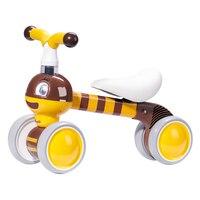 Sunveno Infant Children Carton Baby Balance Bike First Bike Pushbike Walker Kids Ride on Toy Running Bike Gift for 12 36 Months