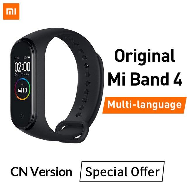 Xiaomi mi Band 4 Smart mi band 3 Цвета экран Браслет фитнес-трекер для измерения сердечного ритма Bluetooth 5,0 водонепроницаемый банда4 - Цвет: Special Offer