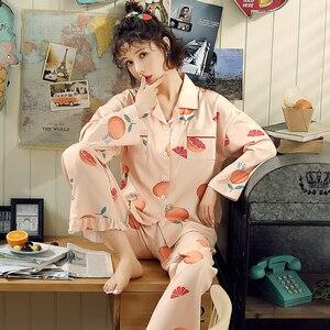 Image 2 - BZEL sıcak satış gecelik kadın pijama setleri karikatür pijama takım elbise sevimli kadın kıyafeti iç çamaşırı artı boyutu Pijamas pijama XXXL