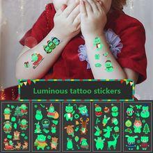 Наклейки для временных татуировок световой ребенок малыш временные