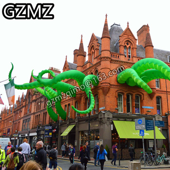 цена на MZQM giant inflatable octopus tentacles inflatable octopus leg / Inflatable Octopus tentacles for party event decoration