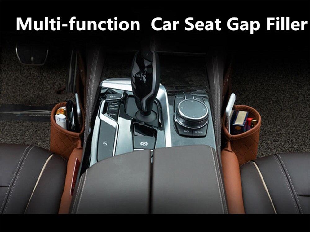 Car Leather Seat Slot Filling Organizer