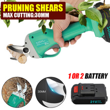 Scissors Pruner Electric Shears Branch-Cutter Fruit-Pruning-Tool Cordless 21V Garden