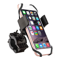 Universal Premium Bike Phone Mount for Motorcycle - Handlebars, Adjustable, Holds Phones up to 3.35 Wide
