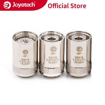 Russian Warehouse Original Joyetech BF SS316 Head For CUBIS/eGO AIO/Cuboid Mini in 0.5/0.6/1.0ohm Coil Electronic Cigarette