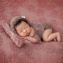 Outfits Photography-Accessories Infants Photo-Props Newborn-Baby Hat Wraps Full-Moon
