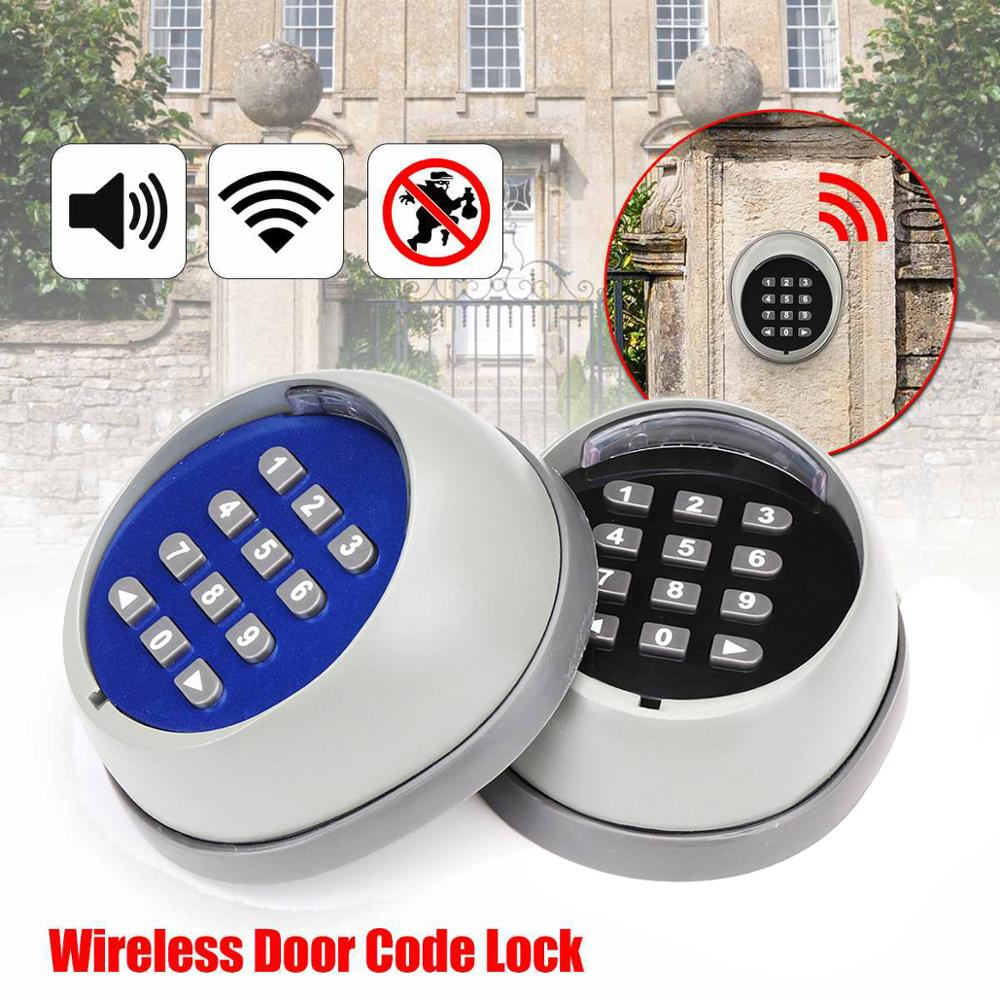 Access Control Password Multi Function Wireless Keypad Garage Door Opener Gate Opener Transmitter 433MHz Receiver