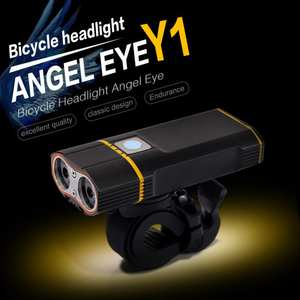 Bicycle-Headlight Bike Front-Light Night-Cycling-Lamp LED Waterproof Rechargeable 600LM