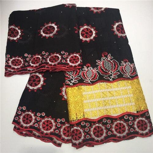 Doux coton femmes robe suisse Voile dentelle de haute qualité brodé tissu bricolage garniture couture africaine dentelle tissu TXJUL313