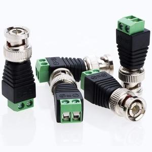Image 5 - Gratis Verzending Bnc Connectoren Voor Ahd Camera Cvi Camera Tvi Camera Cctv Camera Coaxiale/Cat5/Cat6 Kabels