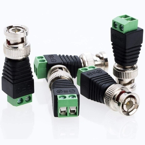 Image 5 - Ücretsiz kargo BNC konnektörleri AHD kamera CVI kamera TVI kamera güvenlik kamerası koaksiyel/Cat5/Cat6 kabloları