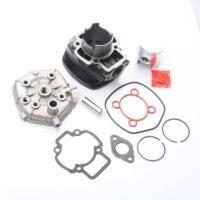 70cc Big Bore Cylinder Kit & Piston Kit & Cylinder Gasket for PIAGGIO Nrg Mc3 Power Purejet 50 Zip Sp Eu2 50cc 100080570 47mm
