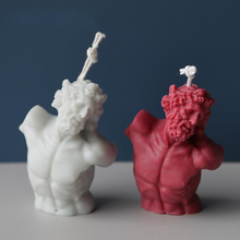 Candle-Mold Statue Silicone Hand-Made-Soap DIY 3D Crafts Art-Character Home-Decor