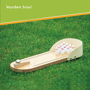 Bowling Game Wooden ...