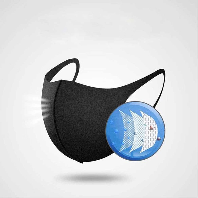 1 Pcs Popular Fashion Face Mouth Mask Anti Dust Mask Filter  Bacteria Proof Flu Face Masks Care Reusable Washable 1