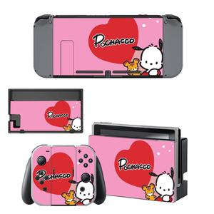Image 1 - Vinyl Screen Skin Pochacco Dog Protector Stickers for Nintendo Switch NS Console + Joy con Controller + Stand Holder Skins