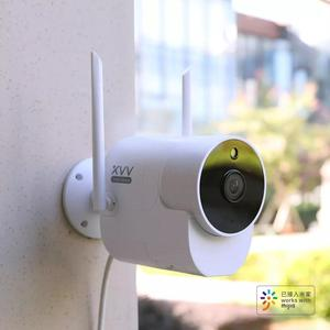 Image 3 - Newest Xiaovv Outdoor 150° Wide Angle Camera Surveillance Camera Wireless WIFI High definition Night vision Work With MiHome app