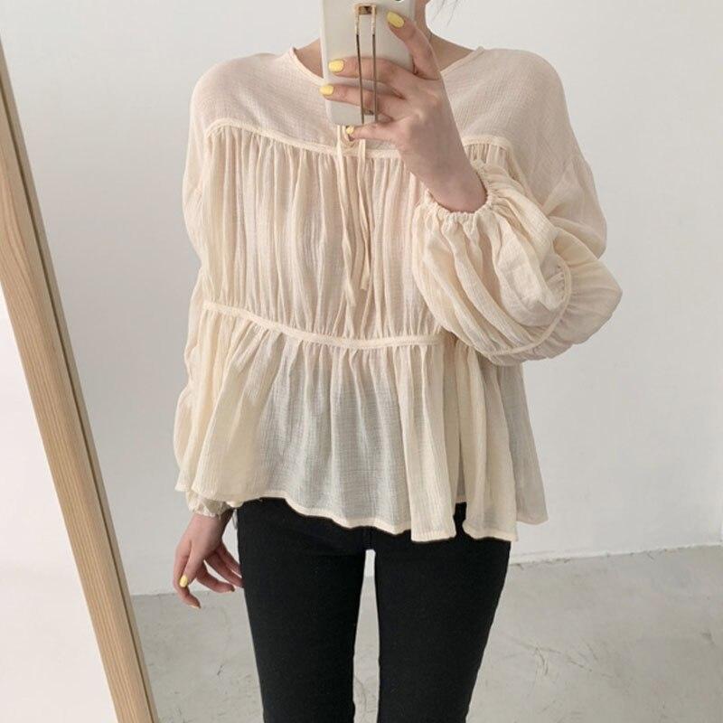 Новинка 2020 Корейская летняя Солнцезащитная рубашка с длинными