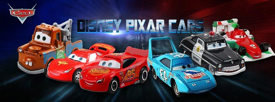 Disney Pixar Cars 2&3 Toys Lightning McQueen 6